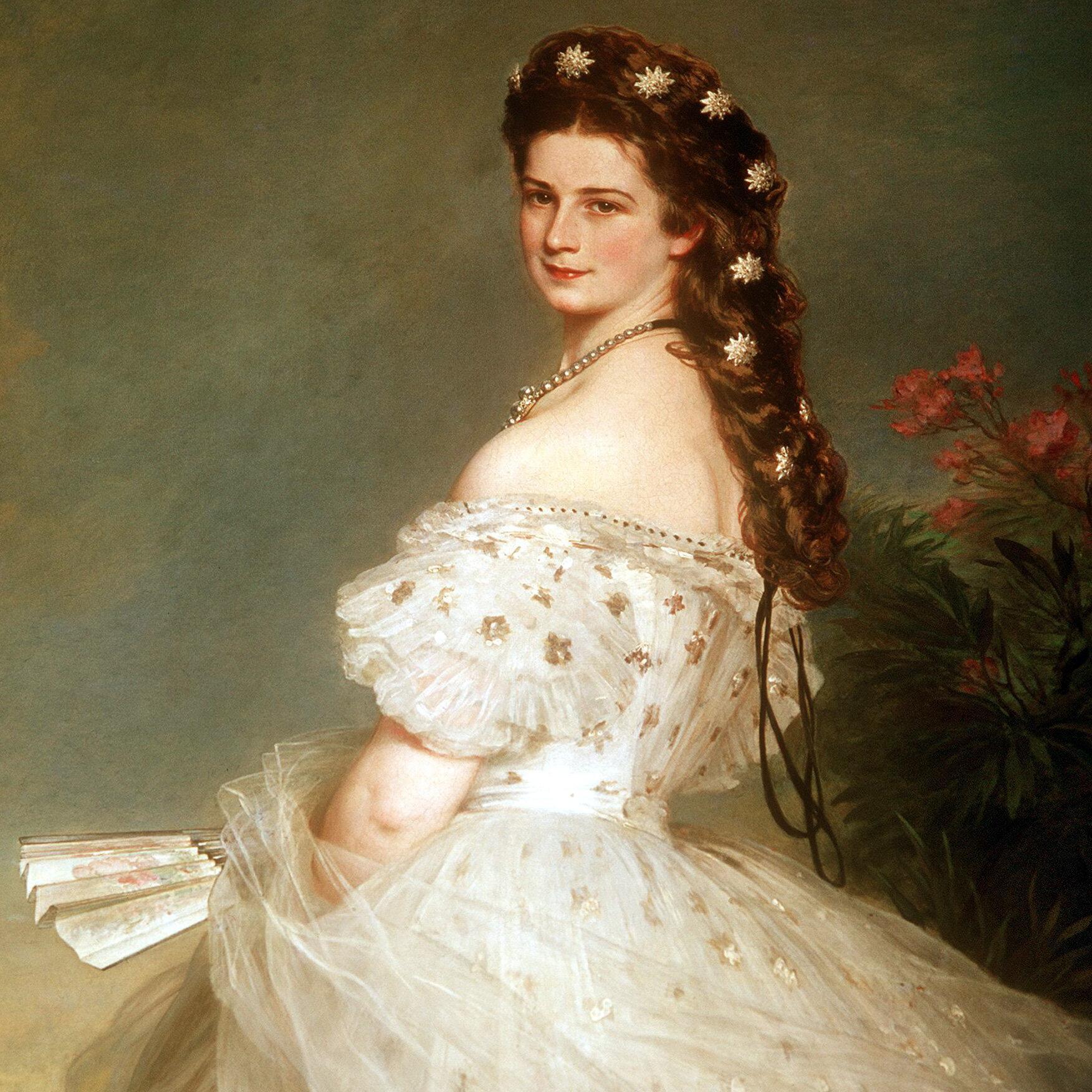 Porträt von Kaiserin Elisabeth Österreich Sisi Sissi Franz Joseph LW K/&K A2 012