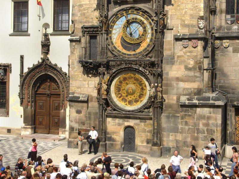 Bild zu Prager Rathausuhr