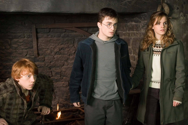 "Bild zu Rupert Grint, Daniel Radcliffe, Emma Watson in ""Harry Potter"""