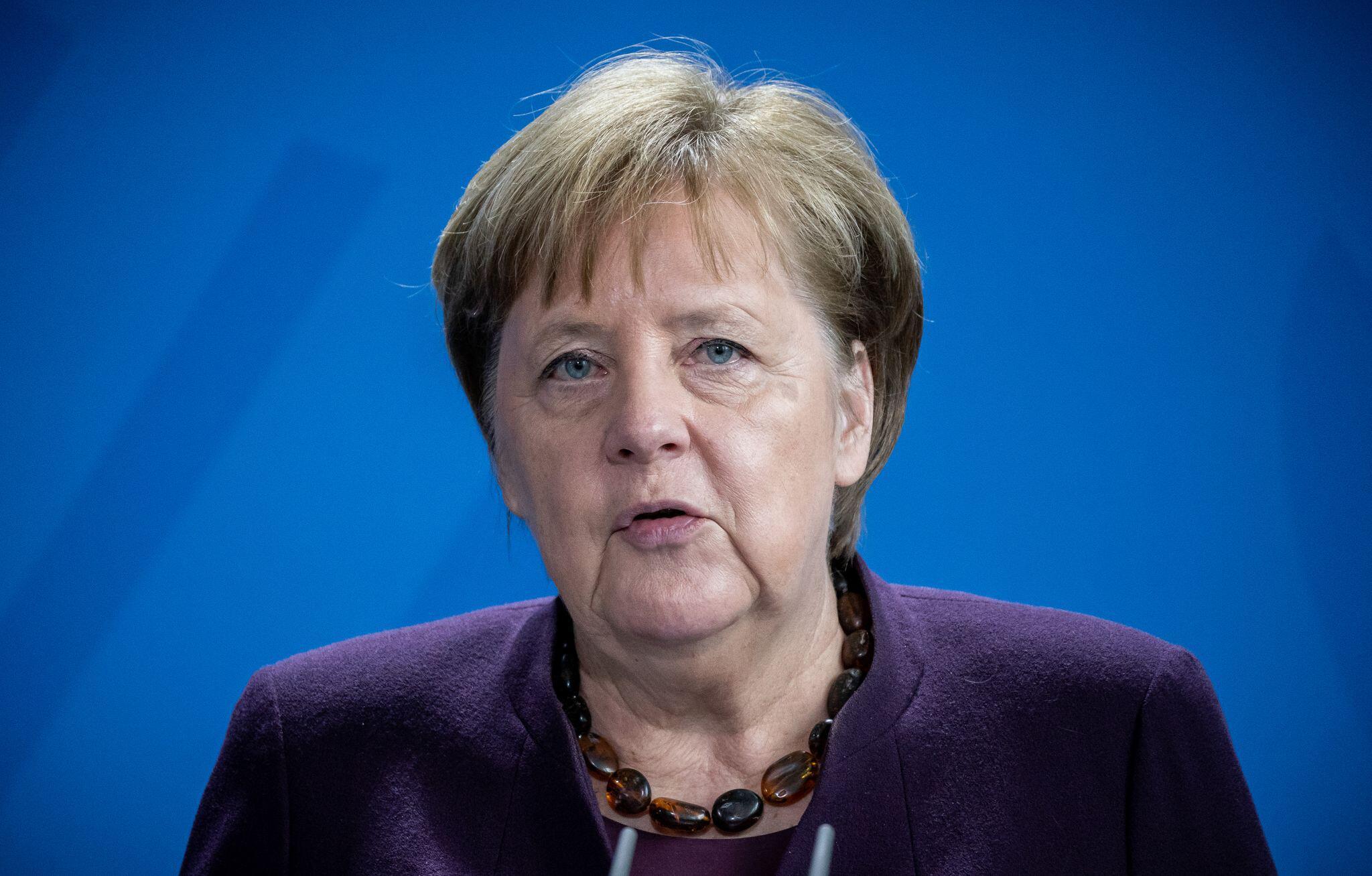 Bild zu Merkel nach Corona-Quarantäne zurück im Kanzleramt