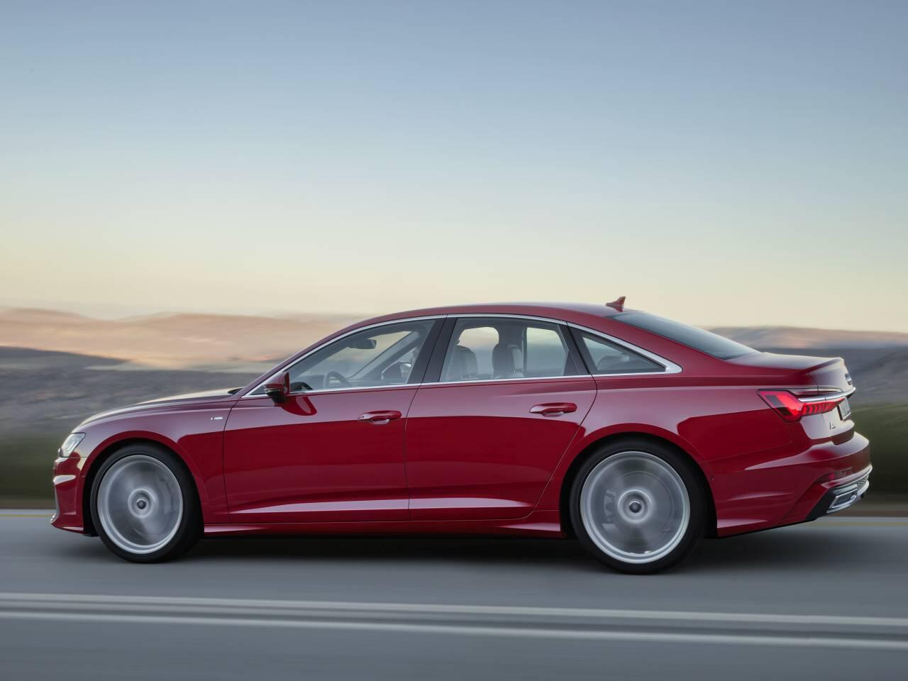 Bild zu Audi A6 Seitenansicht