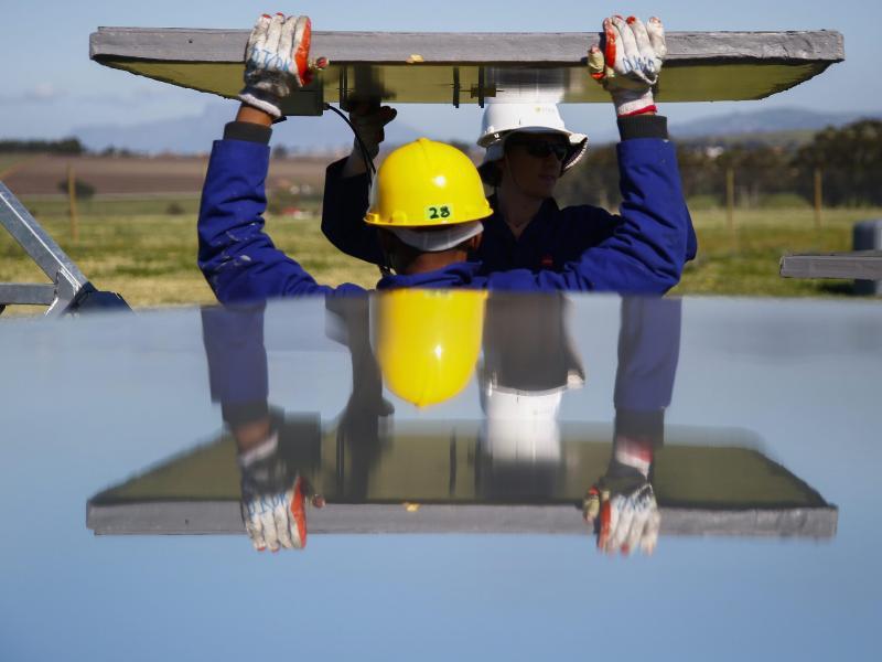 Bild zu Solar-Großanlage in Südafrika