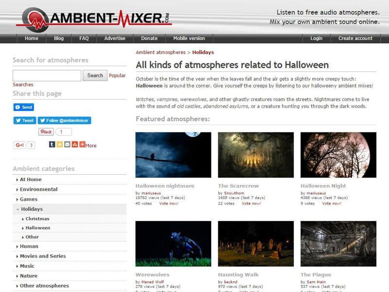 Bild zu «Ambient-Mixer.com»