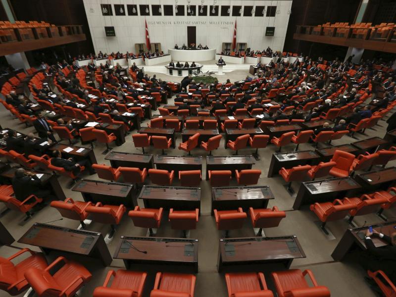 Bild zu Parlament in Ankara