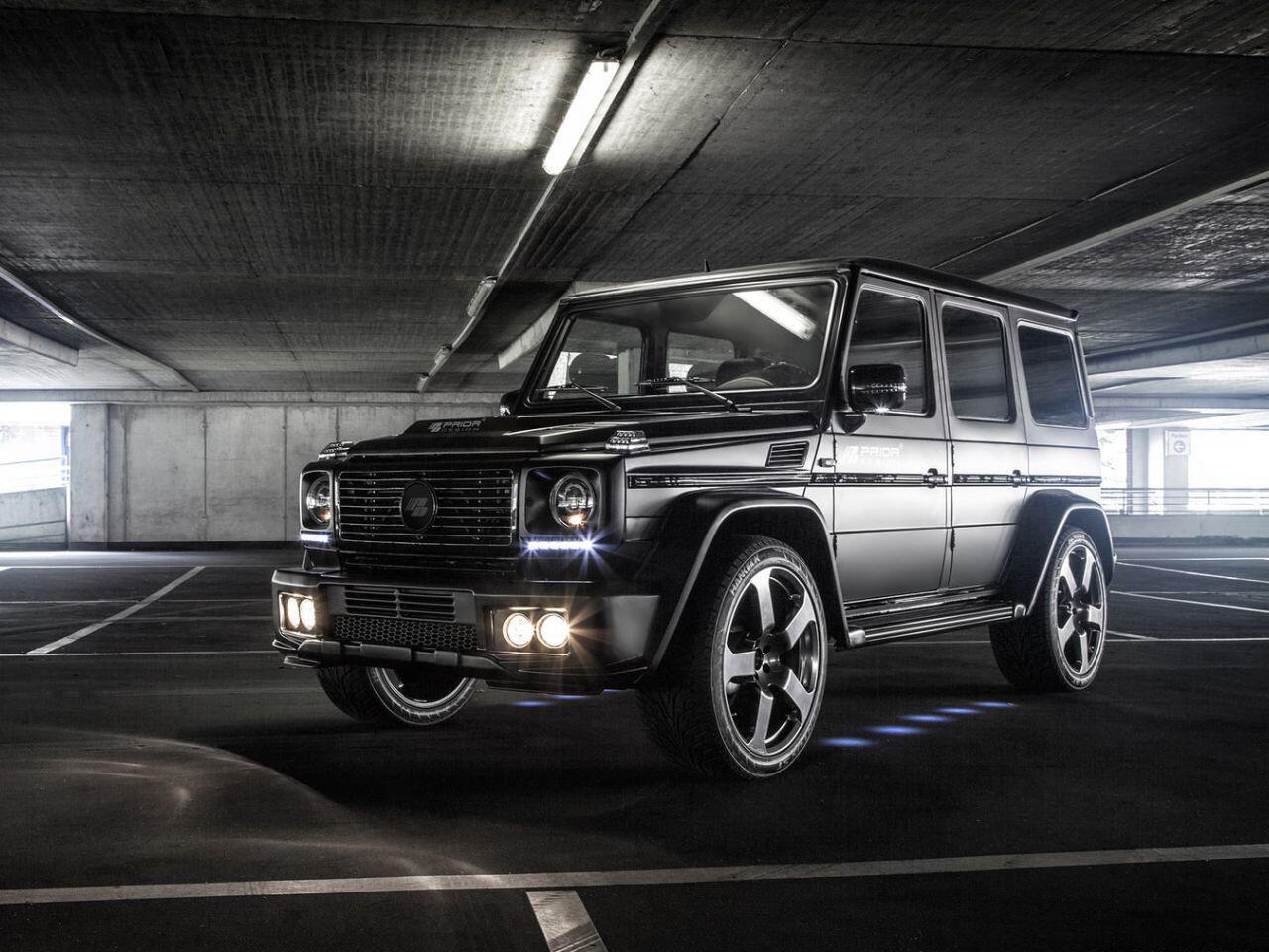Bild zu Prior Design hat sich die Mercedes G-Klasse zur Brust genommen