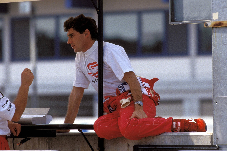 Bild zu Ayrton Senna, Rio de Janeiro, 1988, McLaren