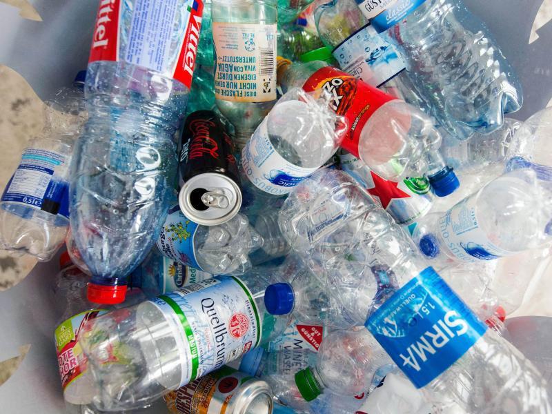 Bild zu Leere Pfandflaschen