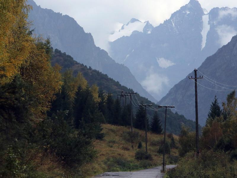 Bild zu Landschaft mit Bergen