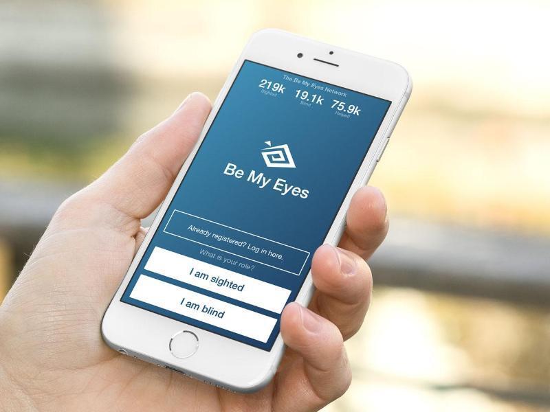 Bild zu App «Be My Eyes»