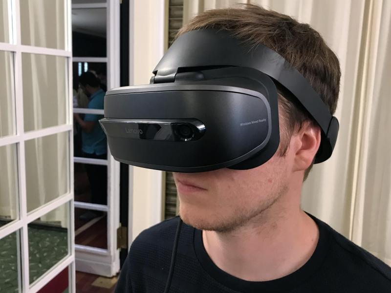 Bild zu VR-Brille