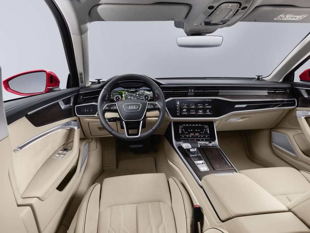 Bild zu Audi A6 (C8) Innenraum