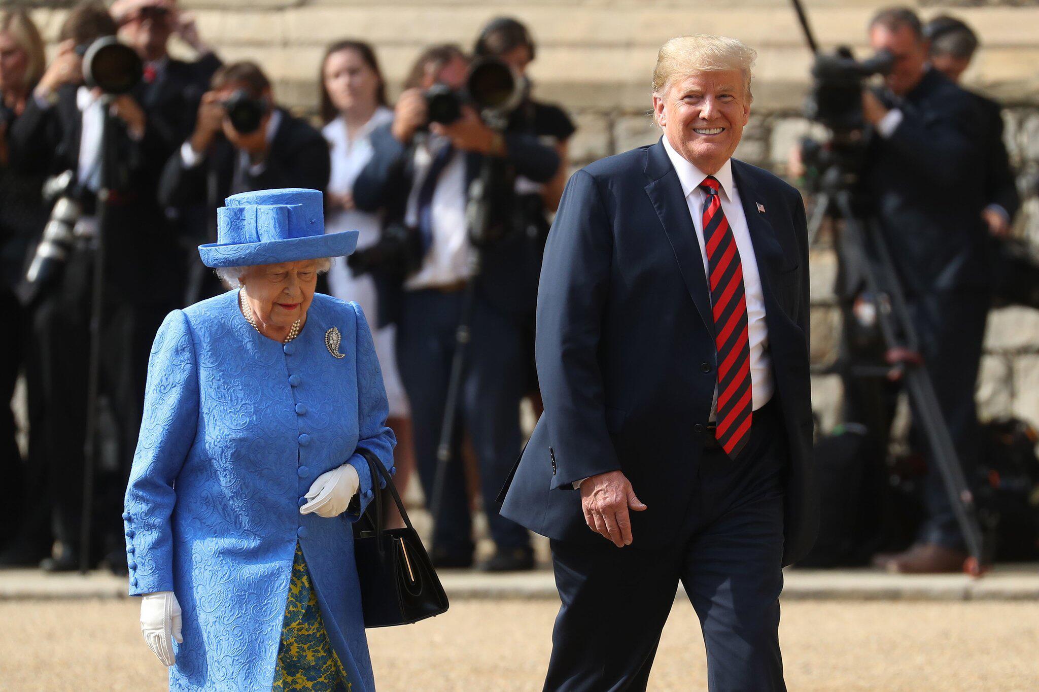 Bild zu US-Präsident Trump in Großbritannien