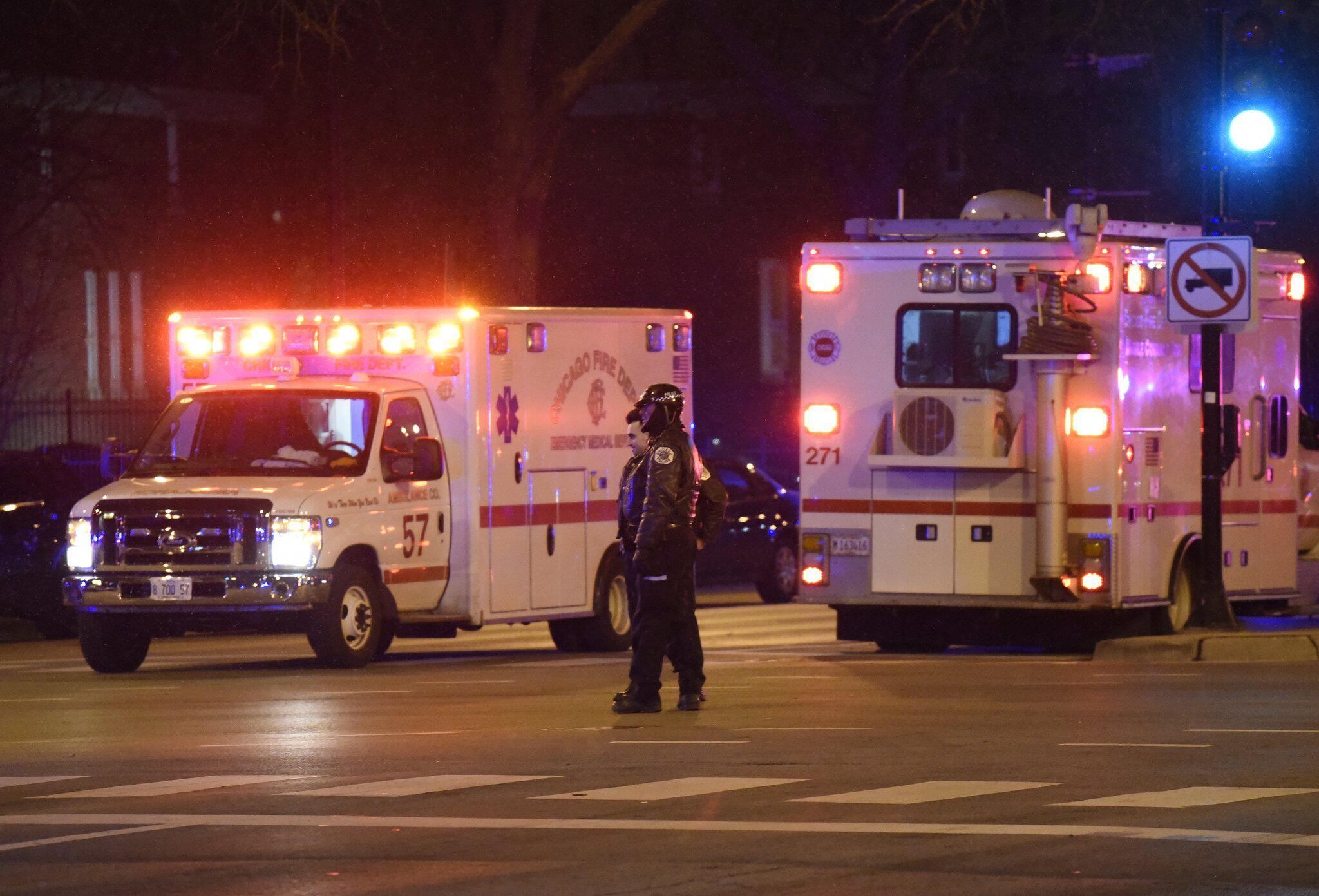 Vier Tote durch Schüsse vor Krankenhaus in Chicago