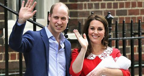 Herzogin Kate bringt Jungen zur Welt