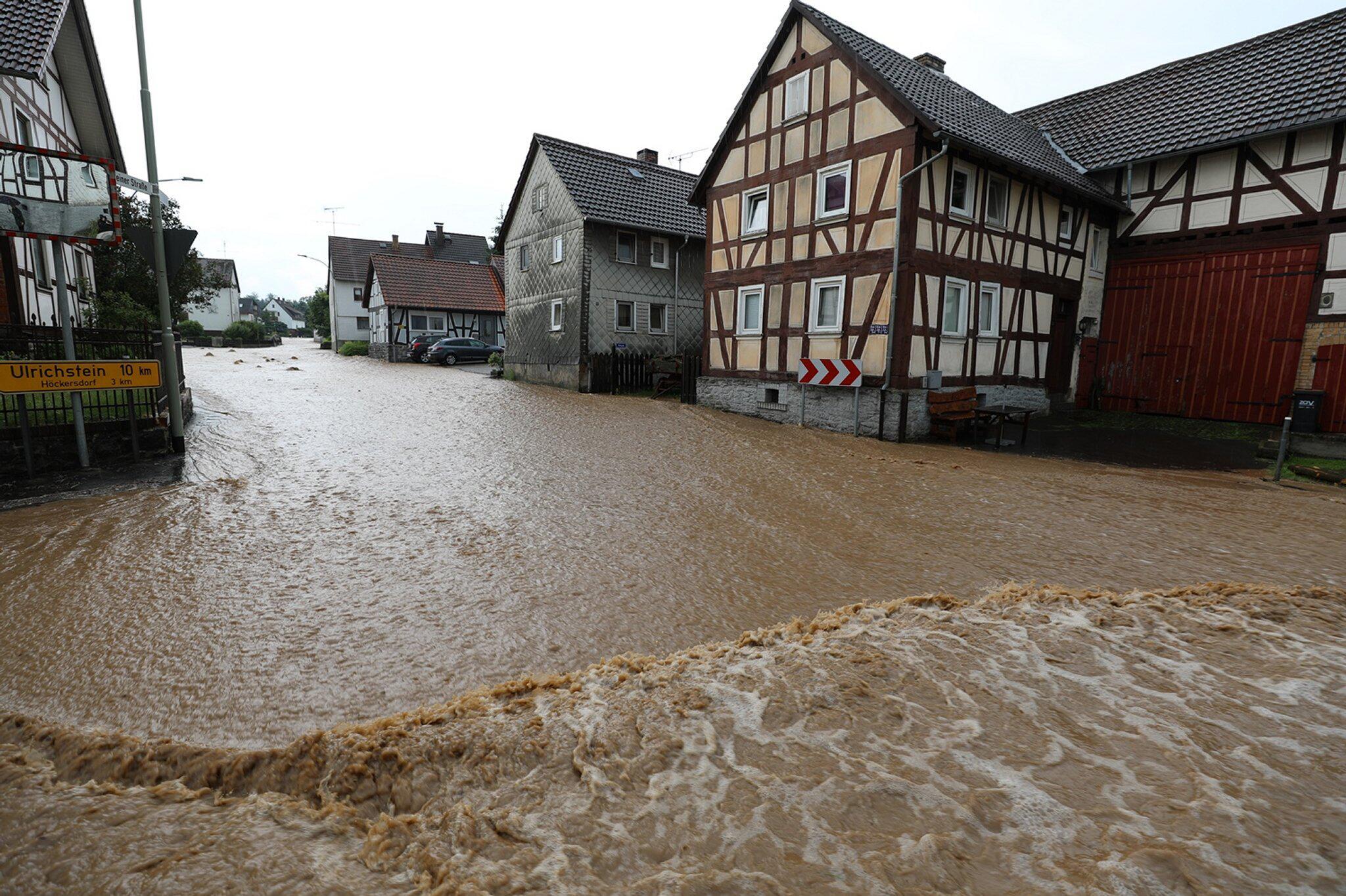 Bild zu Unwetter im Vogelsbergkreis