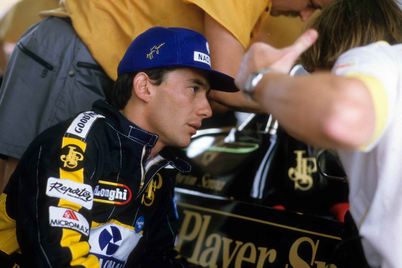 Bild zu Ayrton Senna, Lotus, Formel 1