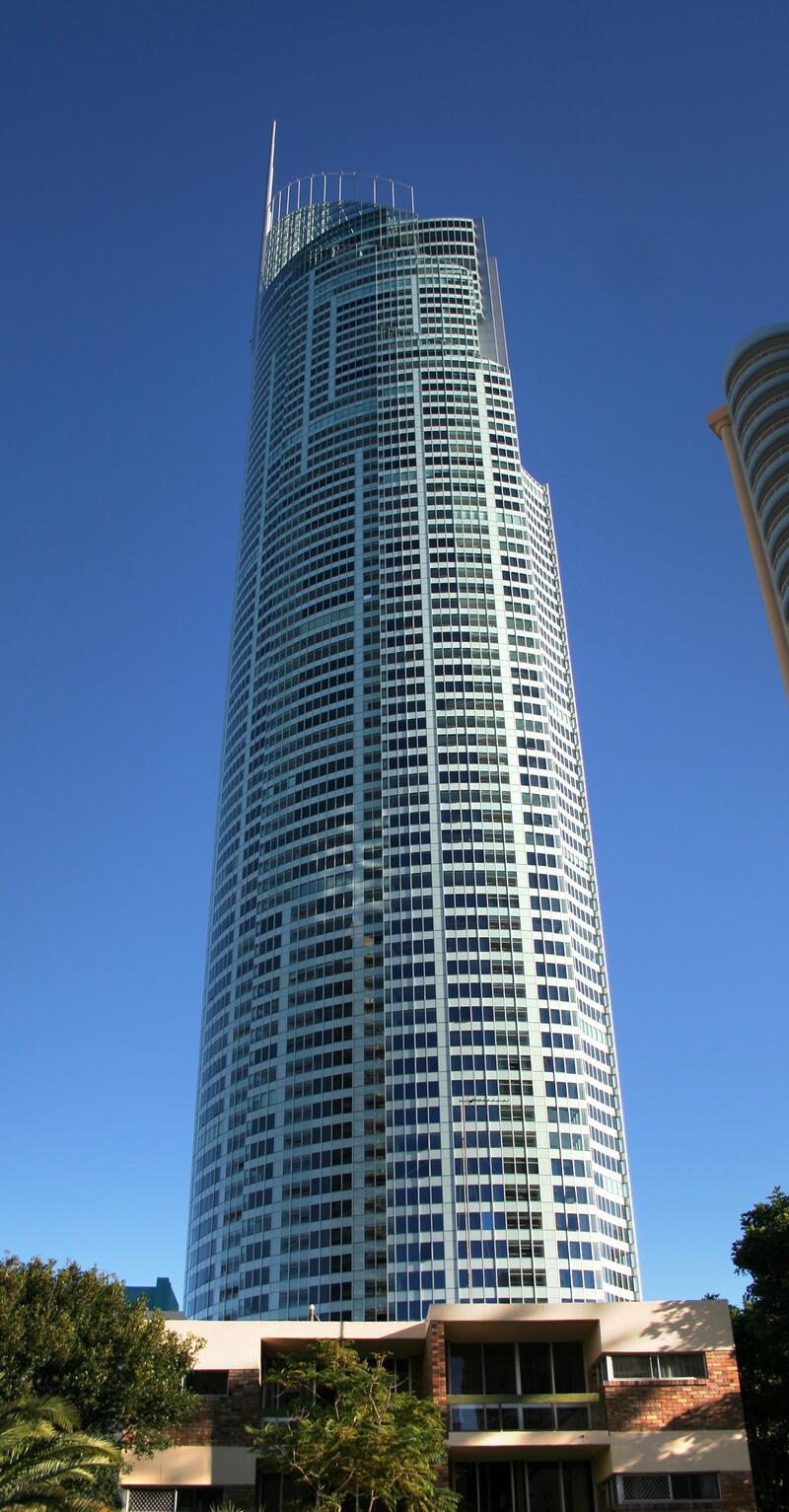 Bild zu 323 Meter: Q1 Tower