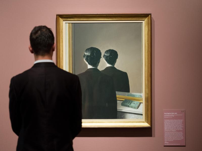 Bild zu Surrealisten-Ausstellung