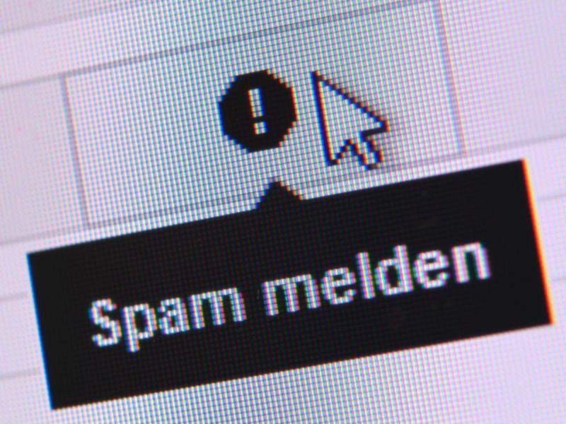 Bild zu Nachricht als Spam melden