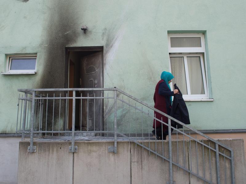 Bild zu Anschlag auf Moschee