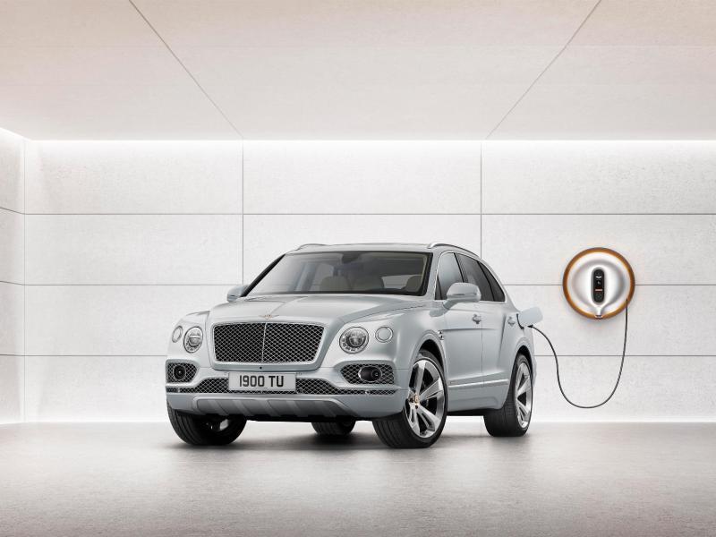 Bild zu Bentley Bentayga als Hybrid