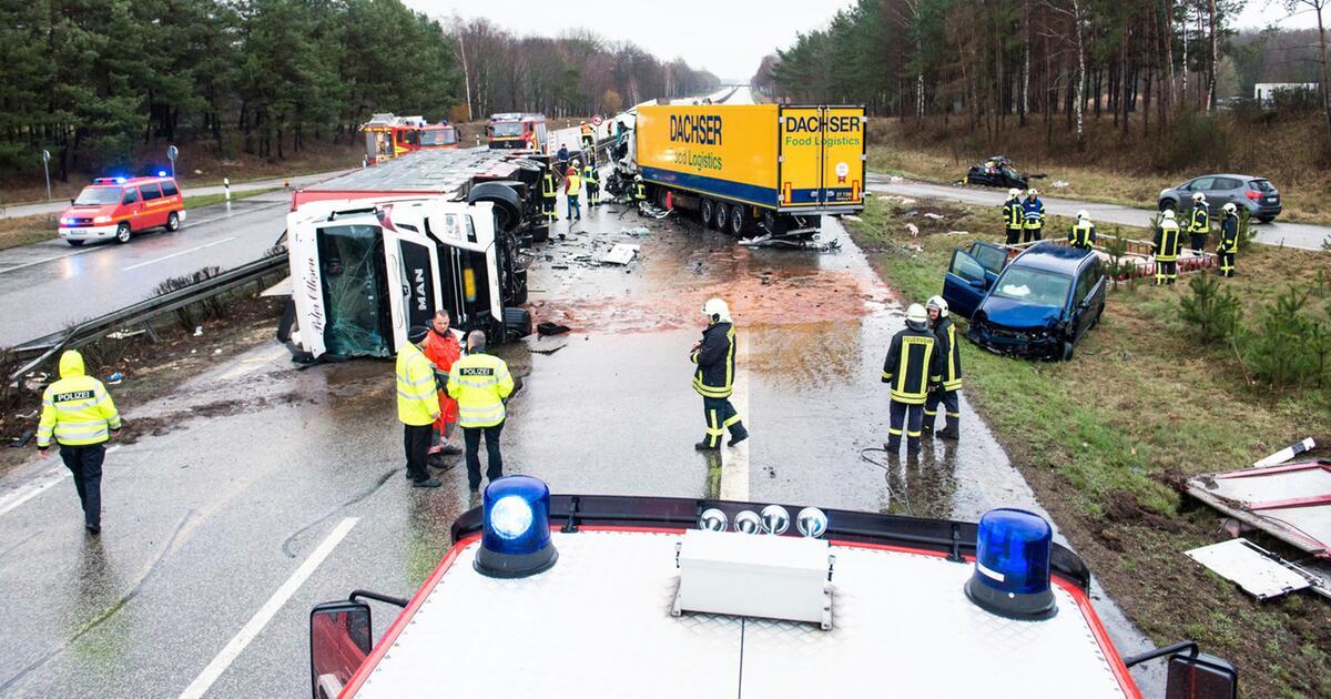 Unfall Auf A24