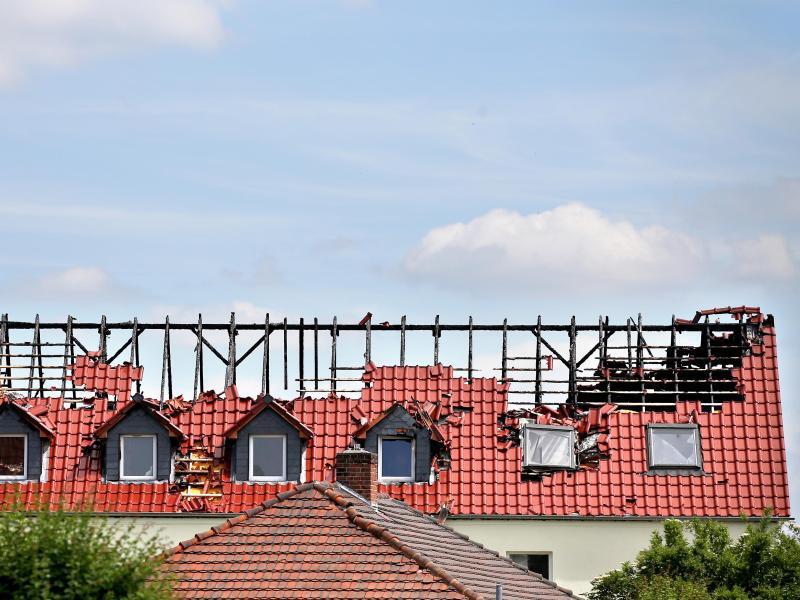 Bild zu Brandanschlag von Tröglitz