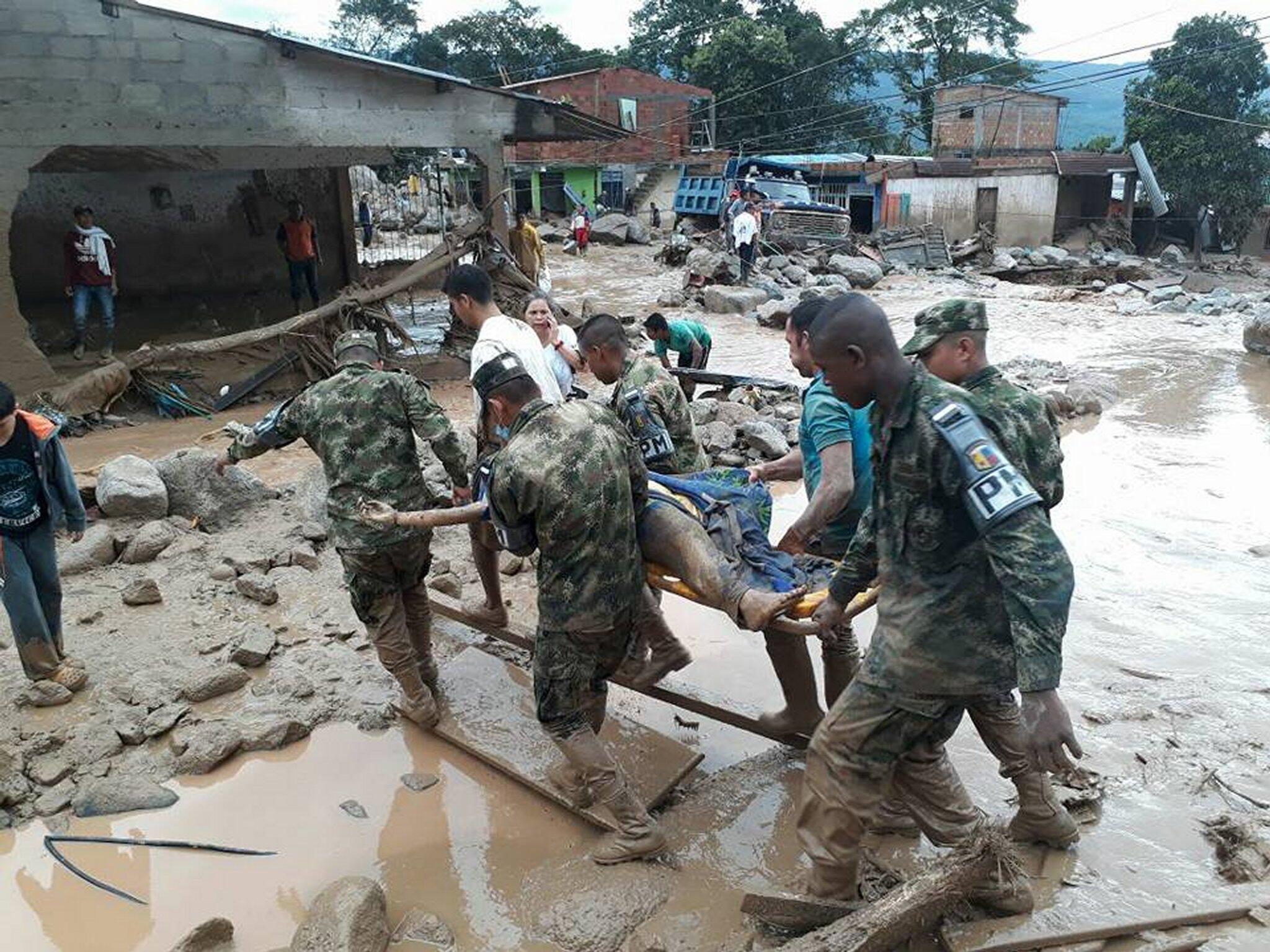 Bild zu Kolumbien, Überschwemmung