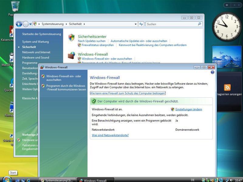 Bild zu Aus für Windows Vista