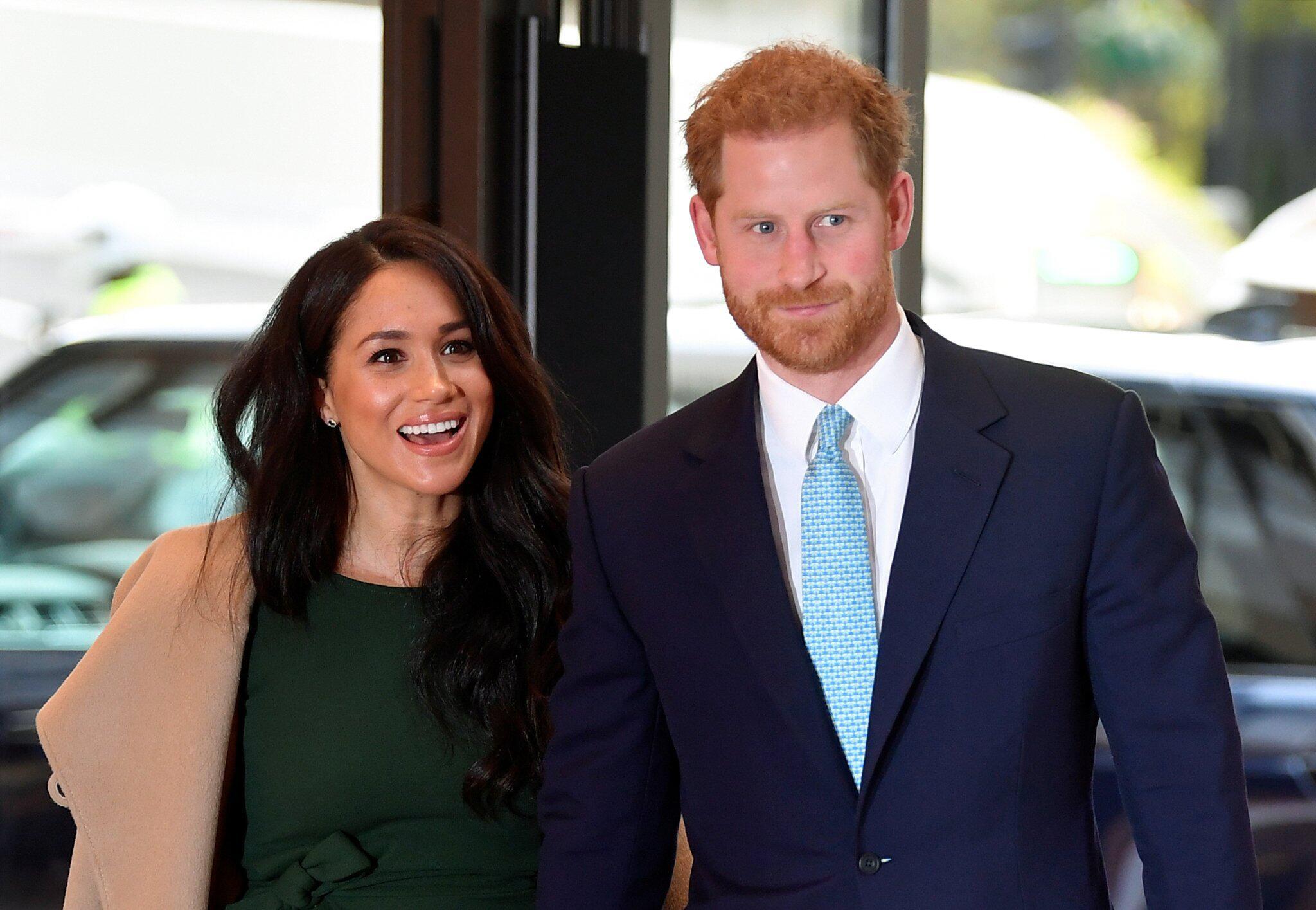 """Bild zu Prinz Harry und Herzogin Meghan bei den """"WellChild Awards"""""""