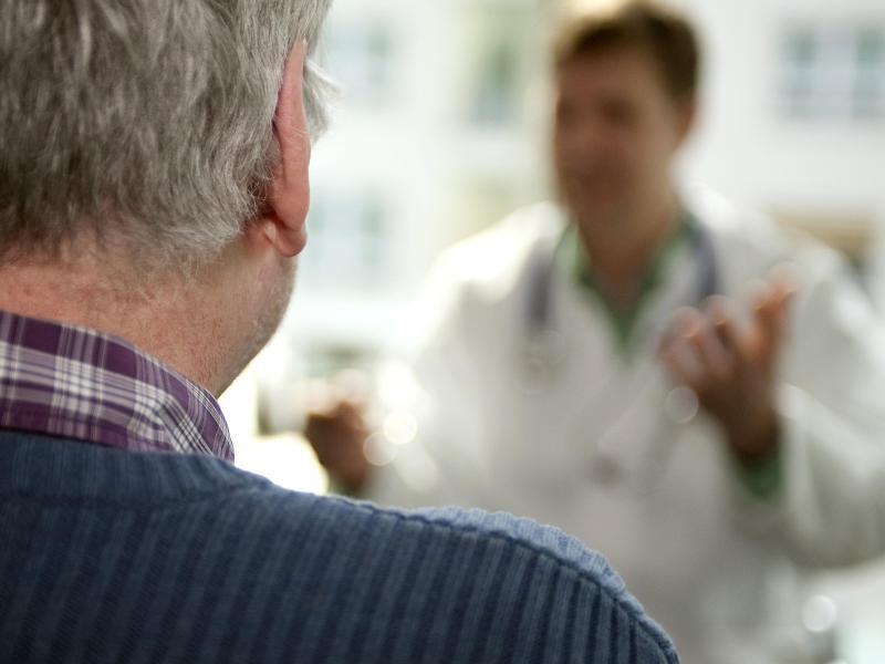 Bild zu Patient mit Posttraumata