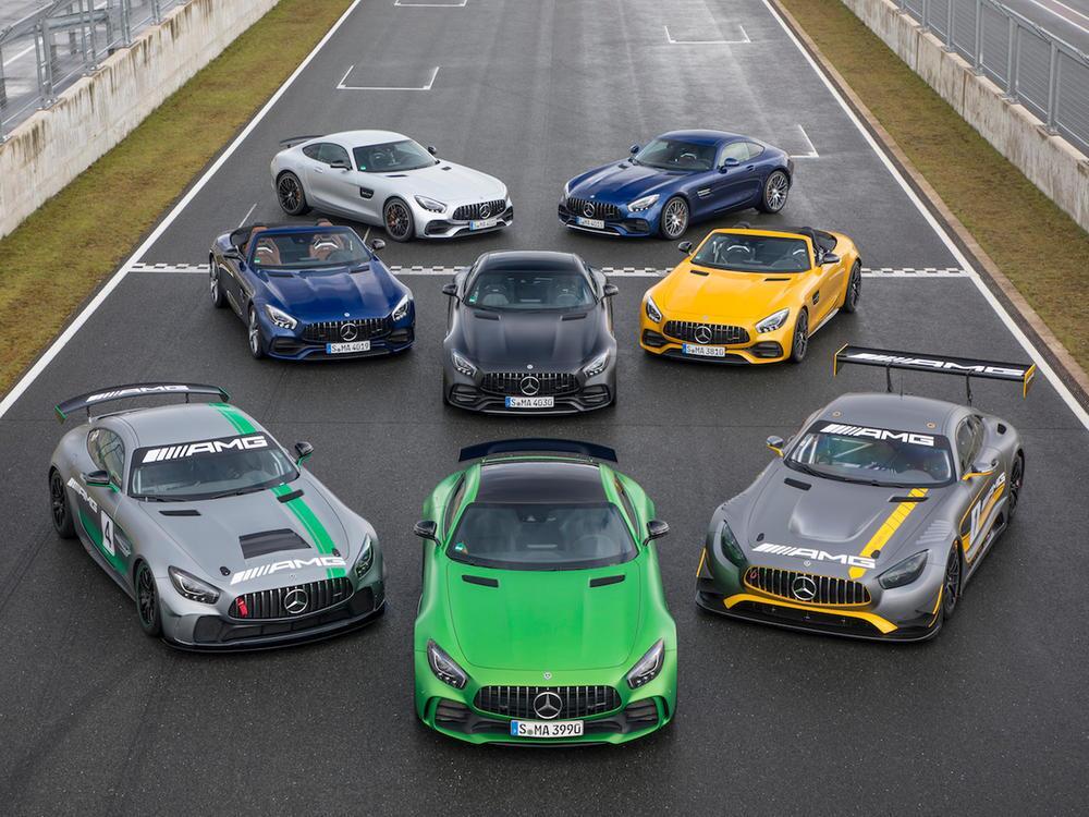 Bild zu Mercedes-AMG GT Familie
