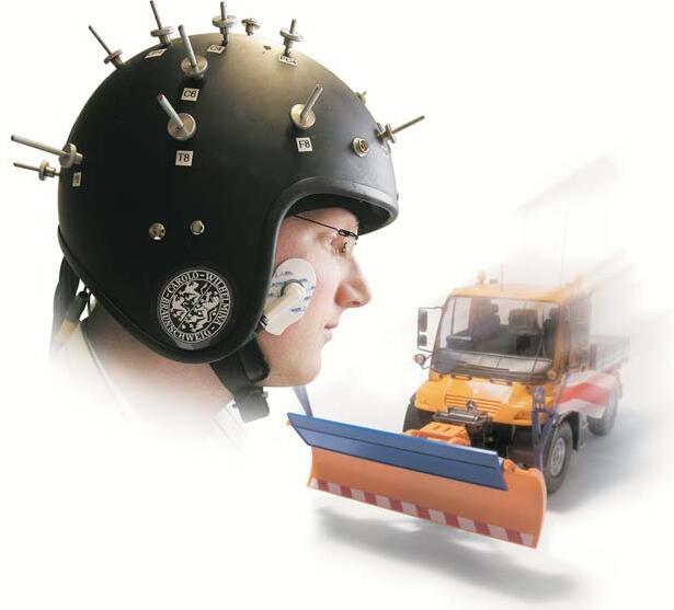 Bild zu Hightech-Helm