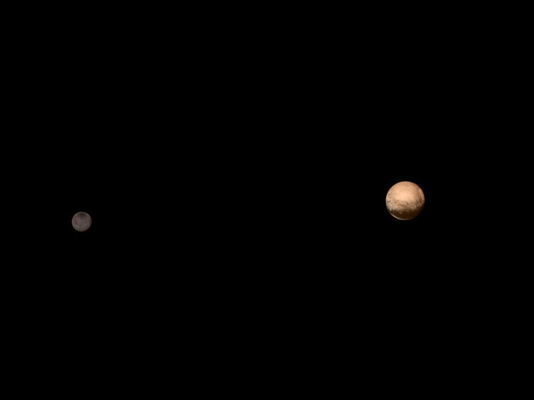 Bild zu Pluto und Charon