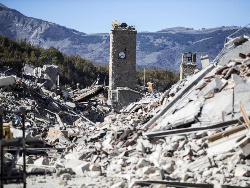 Bild zu Neue Schäden in Amatrice