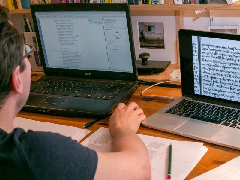 Bild zu Entschlüsselung am Computer