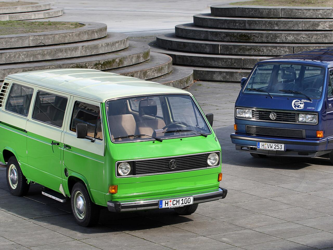 Bild zu VW T3, VW-Transporter mit Heckantrieb