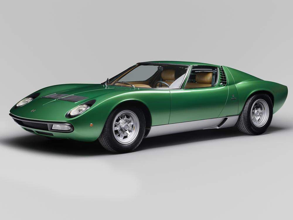 Bild zu Lamborghini Miura auf Hochglanz poliert