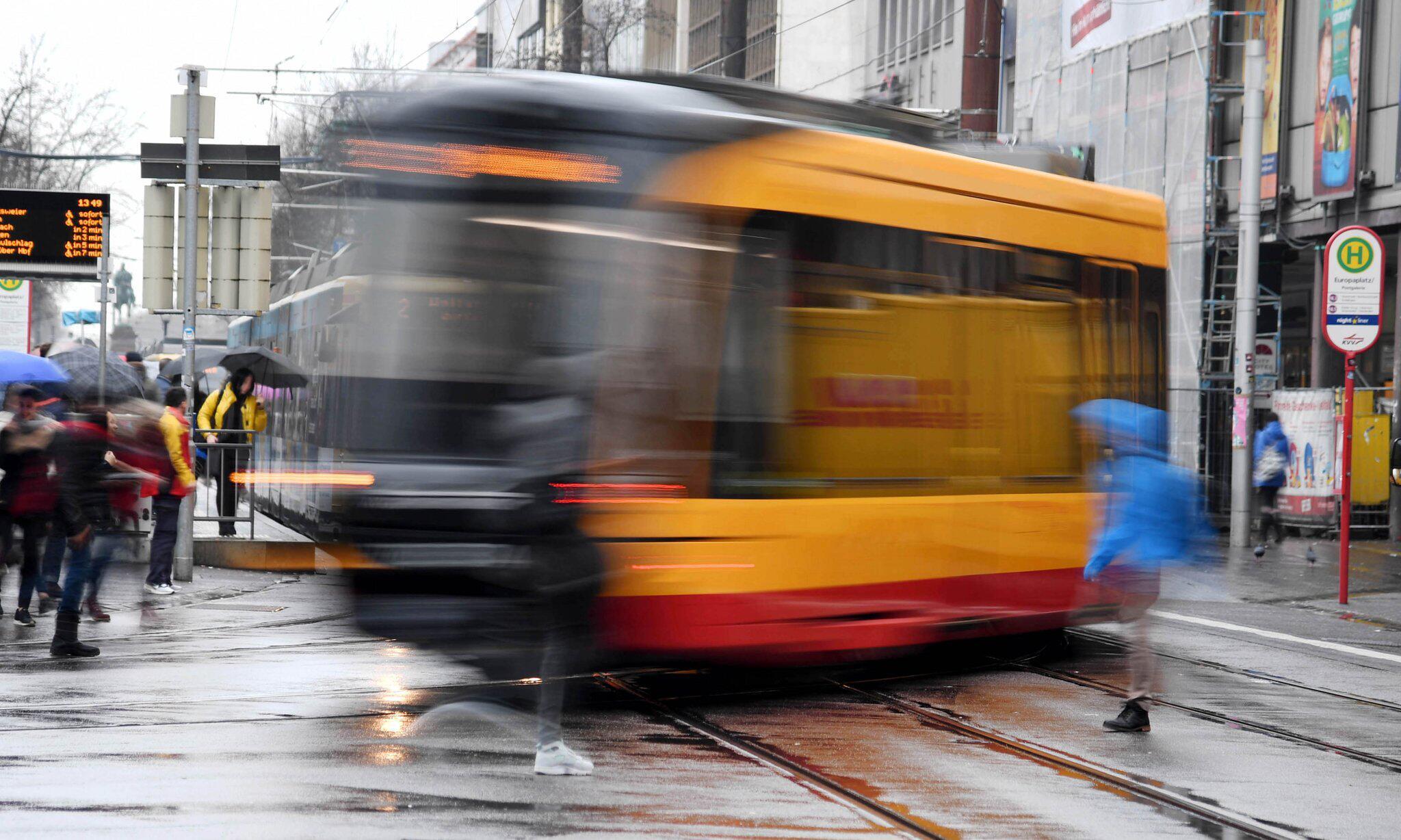 Bild zu Straßenbahnen in Karlsruhe