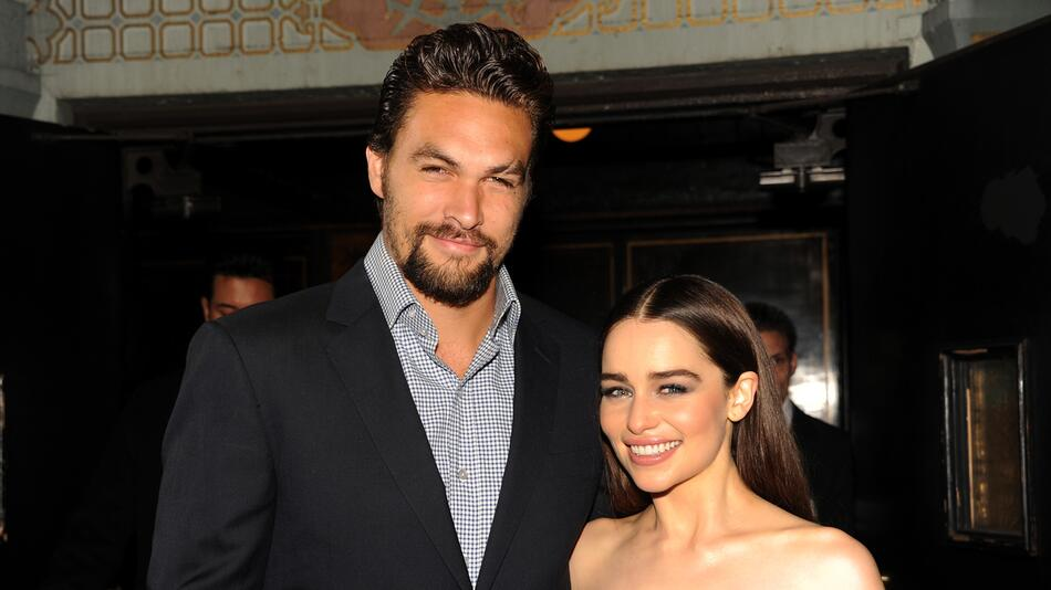Emilia Clarke, Jason Momoa, Game of Thrones