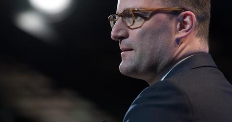 Health Minister Spahn's first day at work