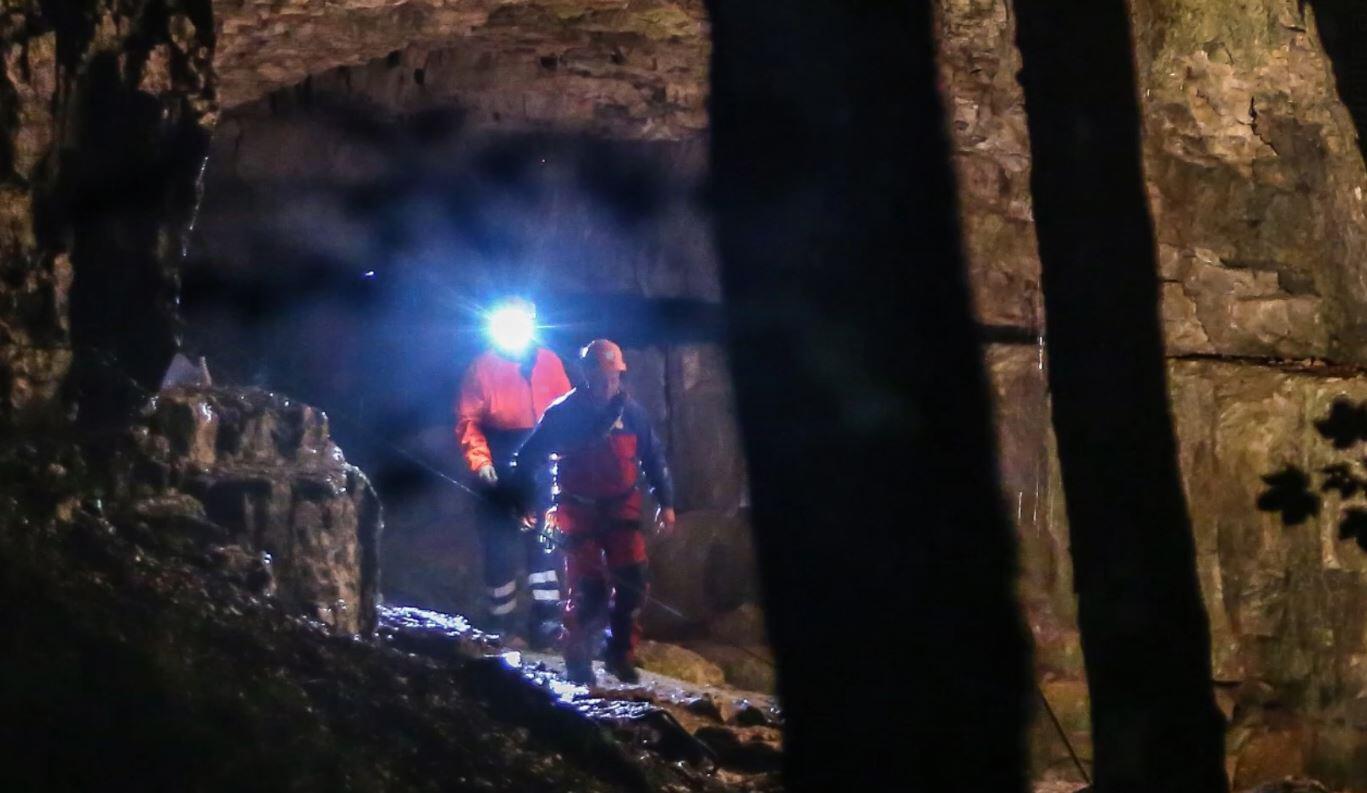 Bild zu Höhlenrettung