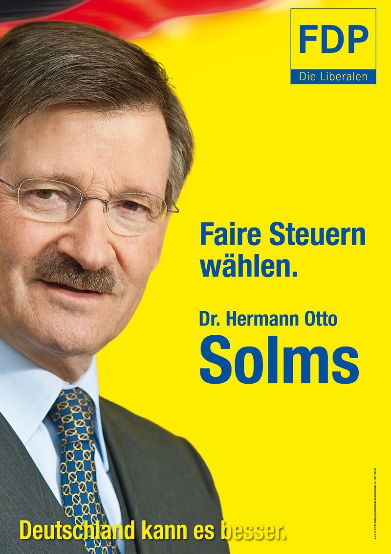 Bild zu FDP-Wahlkplakat