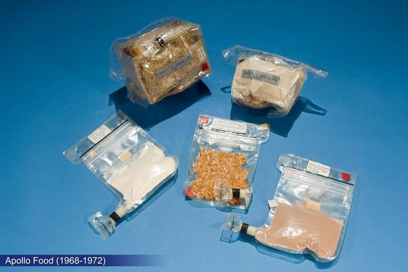 Bild zu Essen während des Apollo-Programms