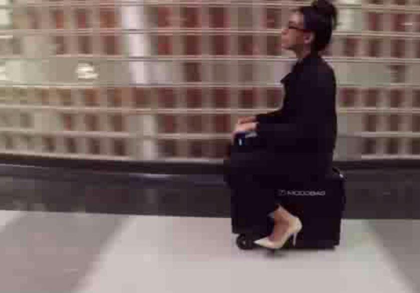 Bild zu Dieser Koffer gibt Gas.