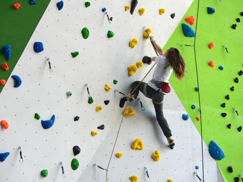 Bild zu Klettern in der Halle