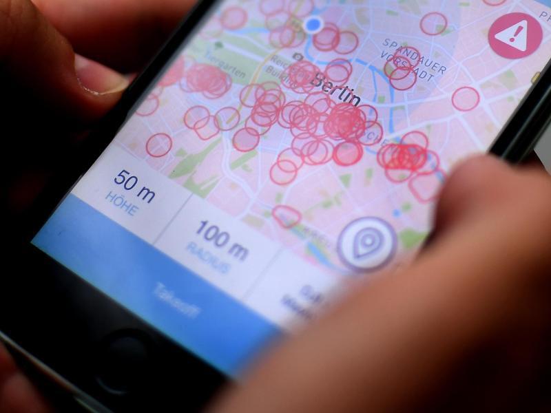 Bild zu App für Hobby-Drohnenpiloten