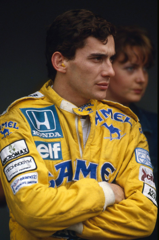 Bild zu Ayrton Senna, Formel, Lotus, Honda, Lotus-Honda