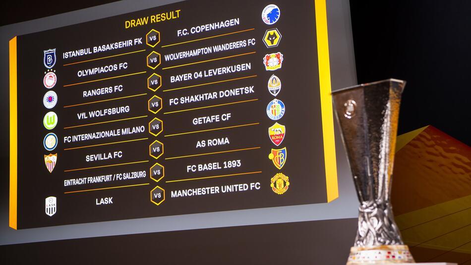 Europa League Auslosung - Achtelfinale