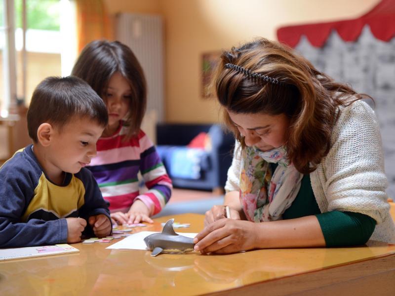 Bild zu Sonderausgaben für Kinderbetreuung